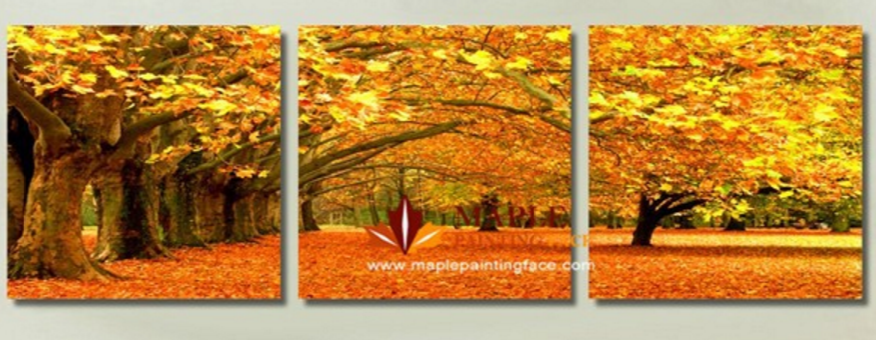 Triptych Artform Printed On Canvas; Good Things Come In Threes