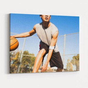 Custom Basketball Sports Canvas