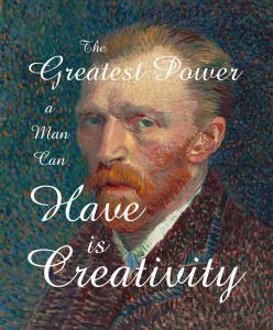 Customized Vincent van Gogh Self Portrait