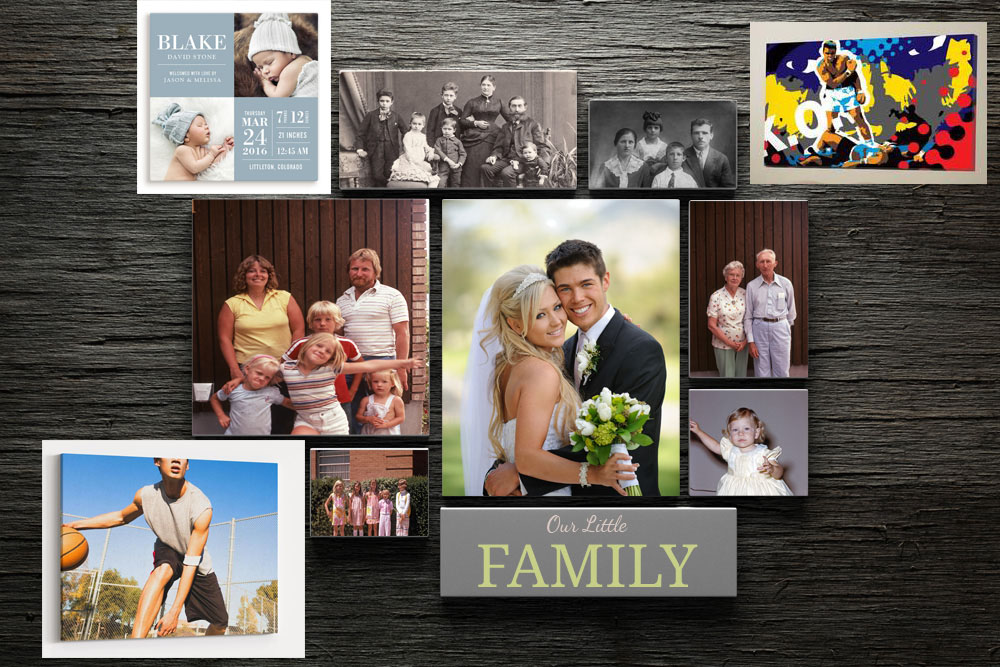 Family Custom Canvas Holiday Gift Guide