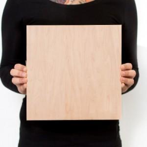 10.5 x 10.5 Custom Solid Wood Print